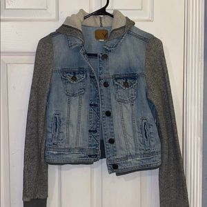 American Eagle denim vest/sweater